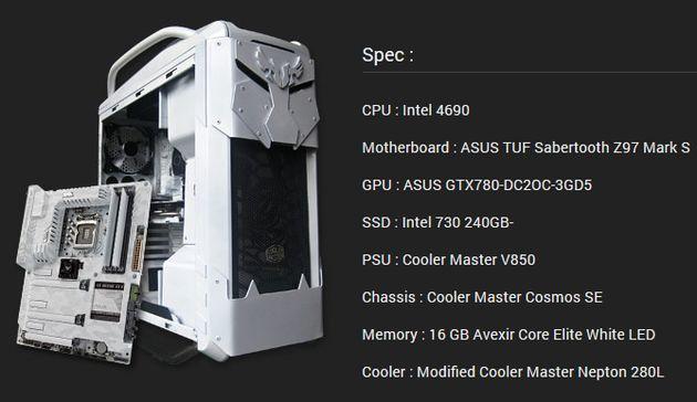 Компьютер Tiger Soul - главный приз в конкурсе