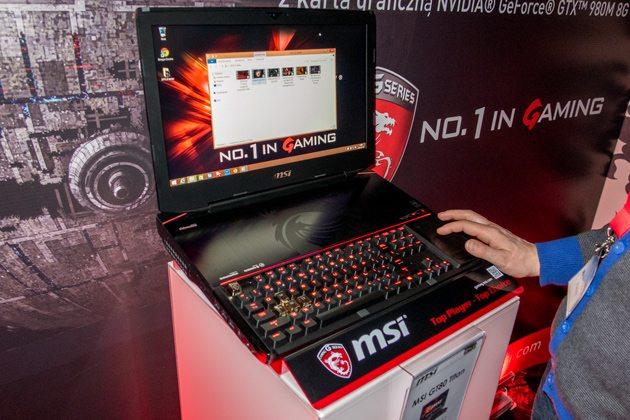 MSI GT80 во всей красе