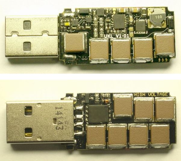"""Аверс и реверс """"смертельной usb flash drive"""""""