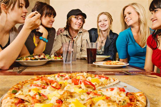 пицца в дома в компании