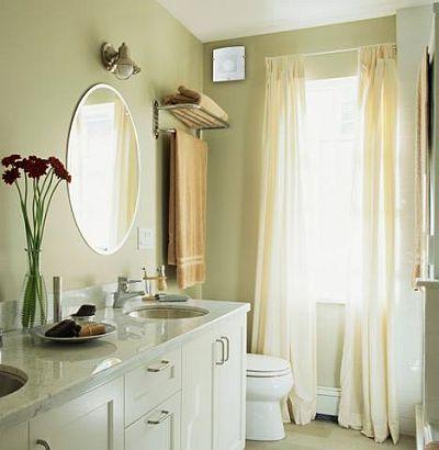 Вентилятор Venucci Glass на стене