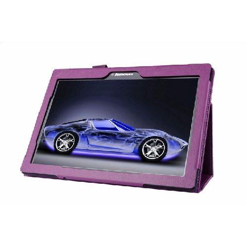 Фиолетовый чехол подставка таб 2 10.1