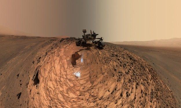 """В пути на Марс, вероятно, придется """"остановить"""" на Луне /NASA"""