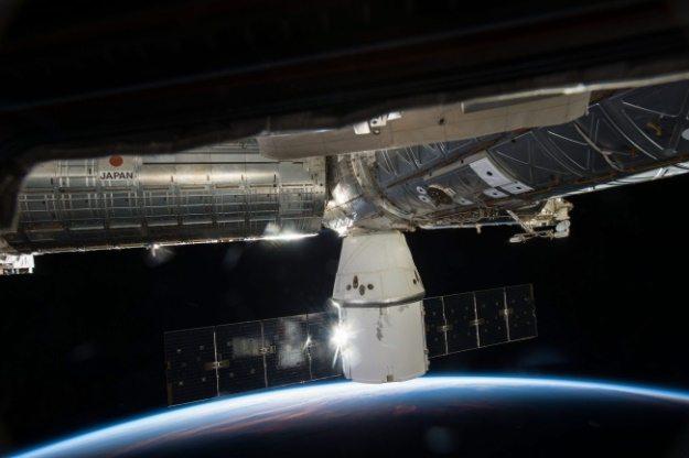 Космический грузовой корабль Dragon (PAP/EPA / NASA)