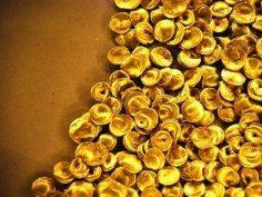 фото искуственое золото