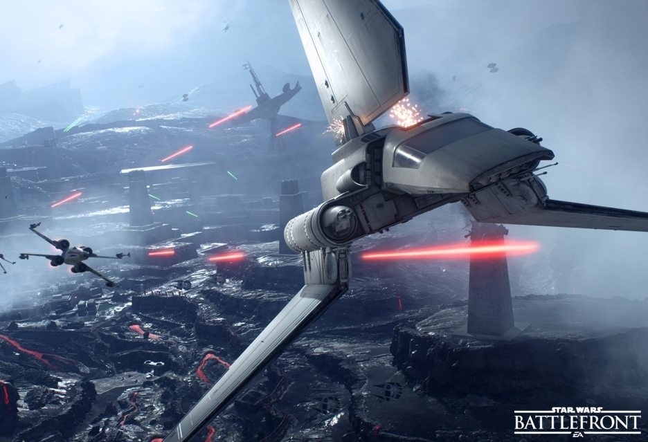 Бета-версия Star Wars: Battlefront