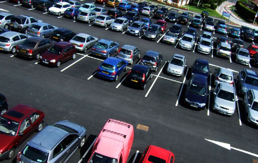 парковка фото