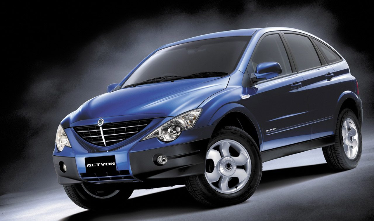 2007 Ssangyong Actyon. * Editors Note - Image 10cm @ 300 Dpi.