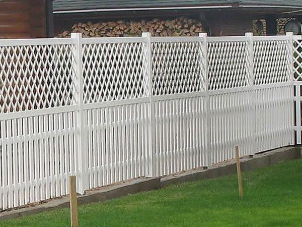 пластиковые ограды