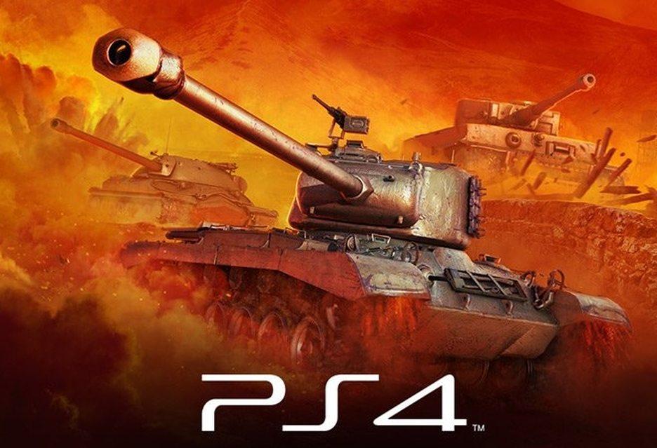 World of Tanks на PlayStation 4 фото