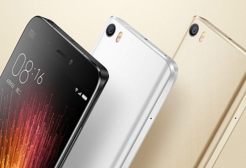 Xiaomi Mi 5 фото