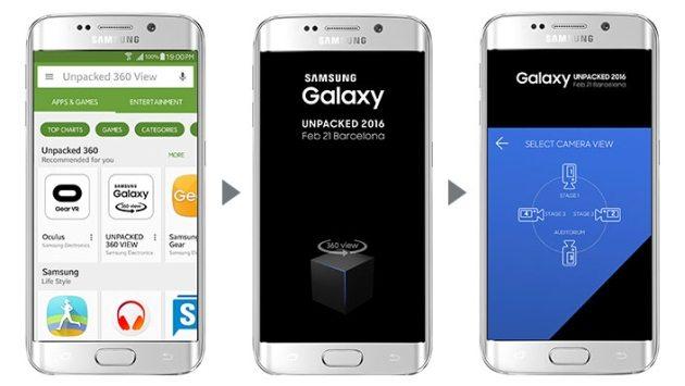 Samsung Galaxy Unpacked 2016 в 360-градусном экране - где смотреть?