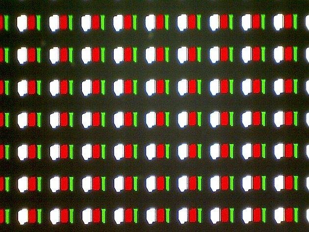 Структура субпикселей дисплея