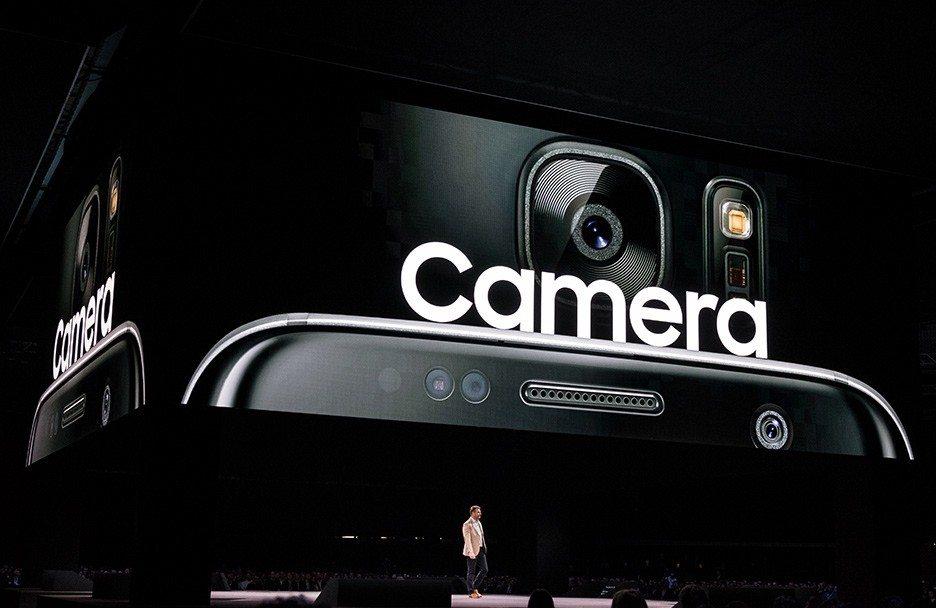 камеры в последнем флагмане Samsung s7