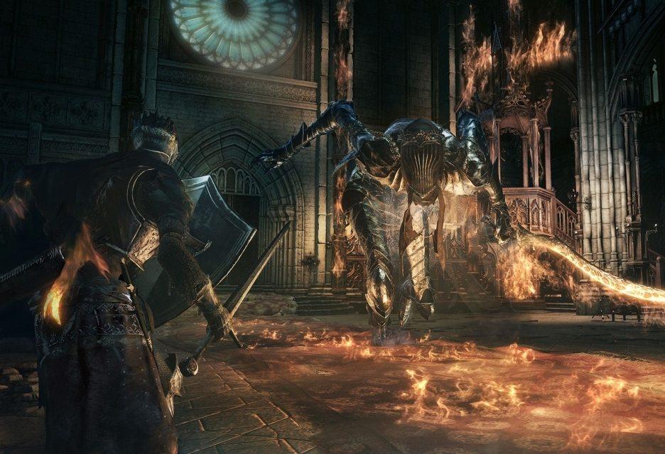 Dark Souls 3 на Xbox One с разрешением 900p и пониженной частотой кадров до 30 FPS