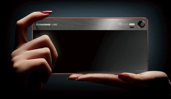 Lenovo Vibe Shot вид сзади