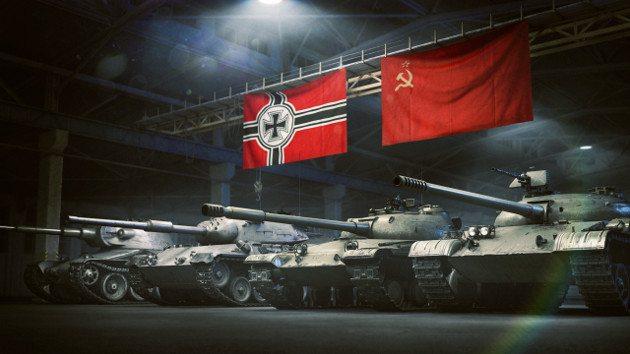 танки A-44, Pz.Kpfw. II Ausf. G, Leopard 1, Object 140, VK 30.02 D.