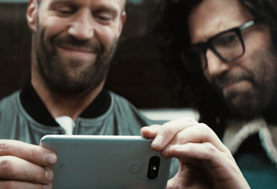 Джейсон Стэтхэм-звезда рекламы LG G5