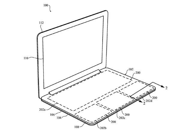 Apple сенсорная клавиатура