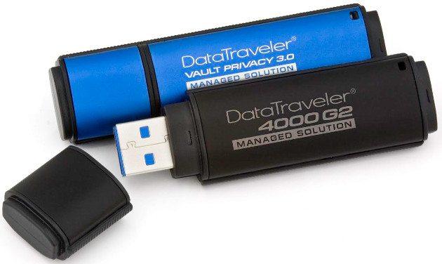 DataTraveler 4000G2 и DataTraveler Vault Privacy 3.0