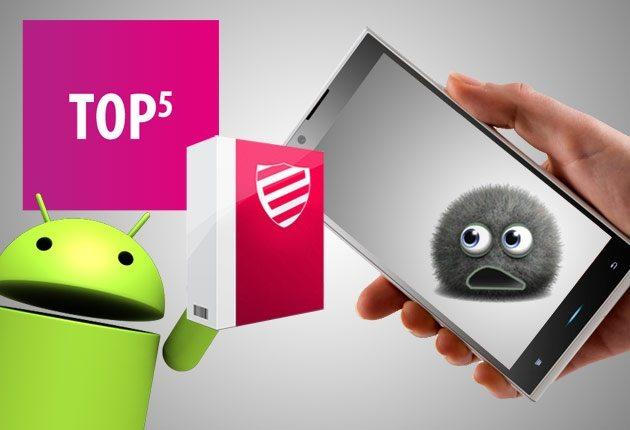 Топ 5 антивирусных программ  для Android