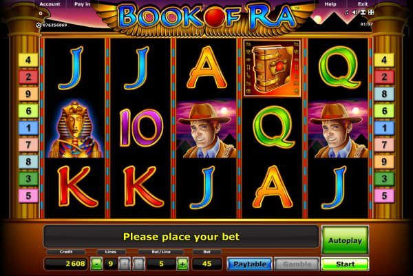 играть book of ra slot classic