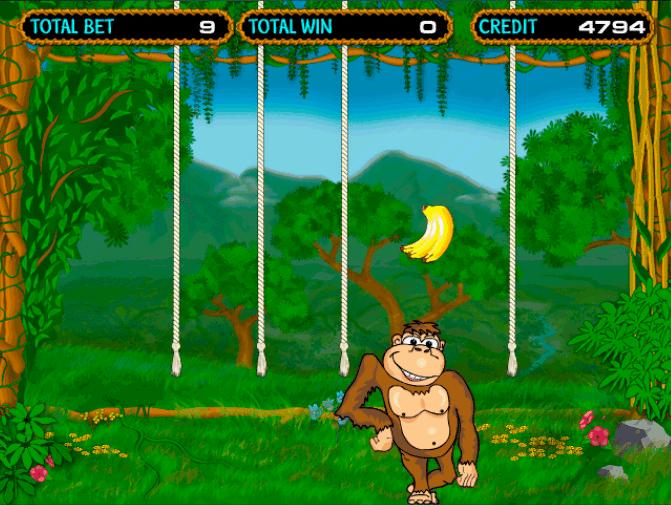 Игровой автомат Crazy Monkey стоит сыграть на деньги