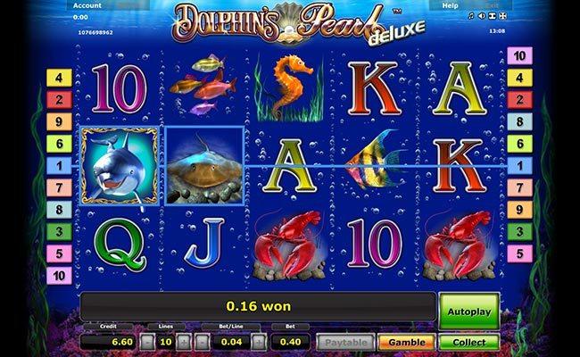 играть онлайн Dolphin's Pearl Deluxe
