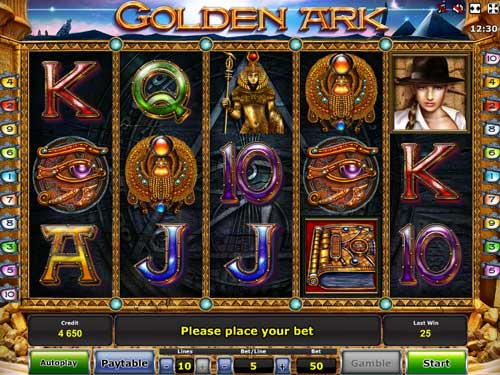 golden-ark-slot-screen