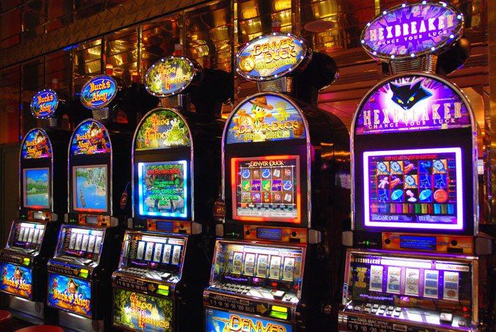 игровые автоматы. фото