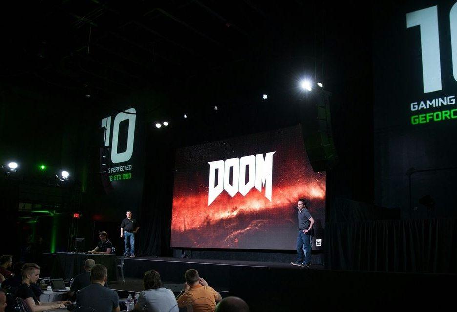 презентация производительности последней видеокарты nvidia geforce 1080