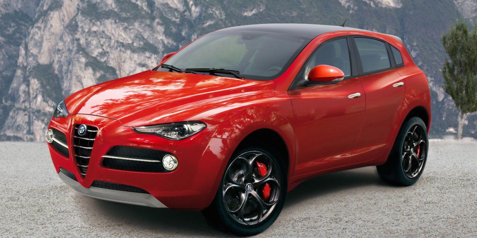 Alfa Romeo модель Stelvio