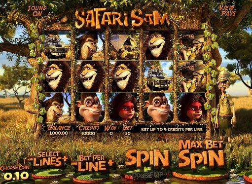 Safari-Sam играть онлайн