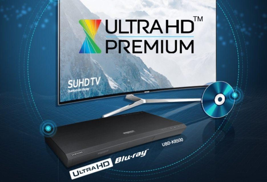 Плеер Samsung UBD-K8500 с сертификатом Ultra HD Premium