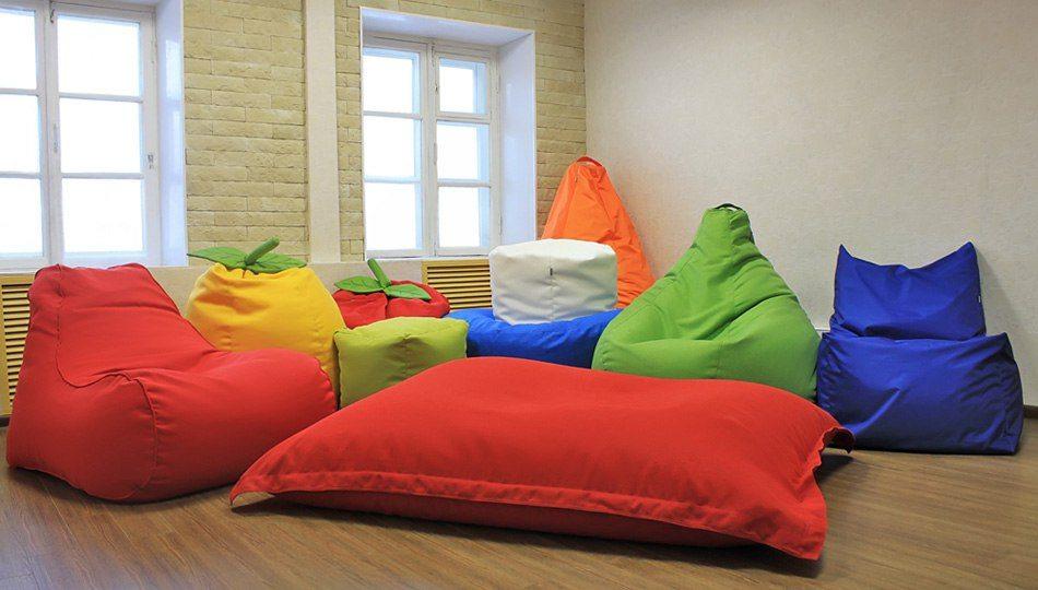 Особенности бескаркасной мебели