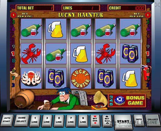 Игровой автомат lucky haunter. Фото