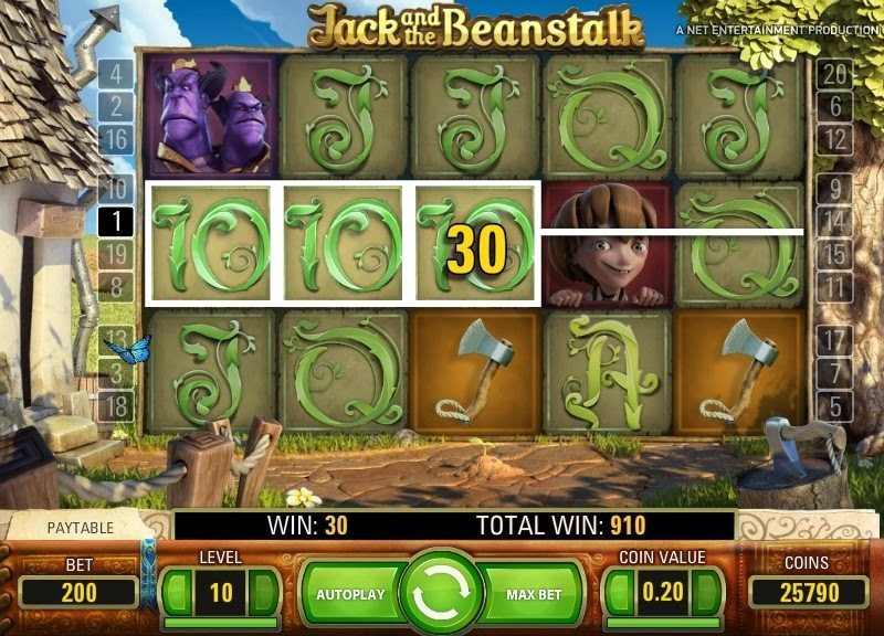 Jack and the Beanstalk Slots 7