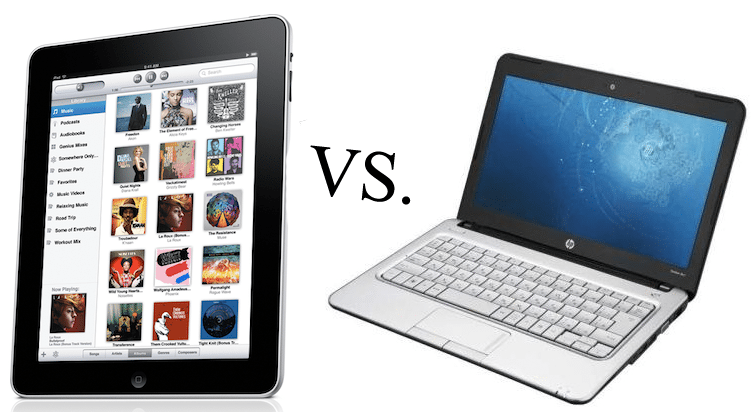 ipad vs netbook - что выбрать. Фото