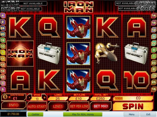 онлайн игра iron man 2