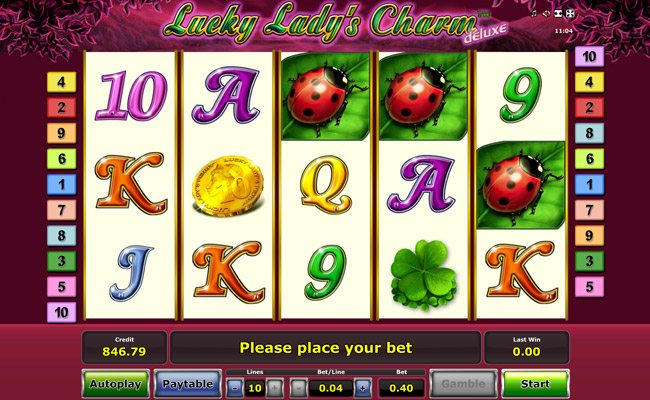 Играть в Lucky Lady s Charm Deluxe