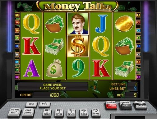Money Talks slot. Фото