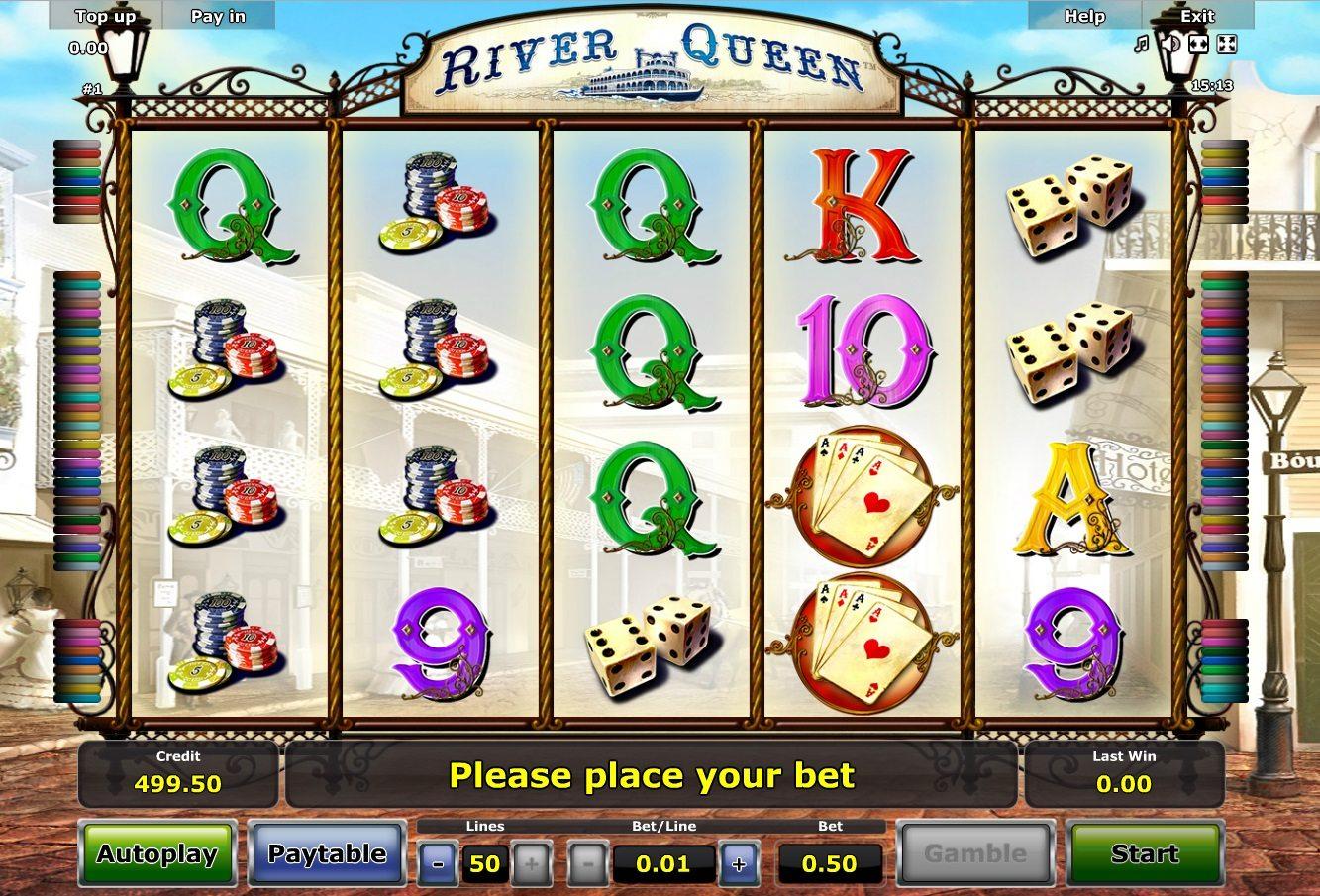 Игра от Новоматик River queen. Фото