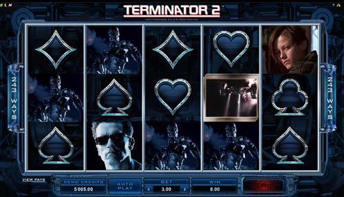 terminator2 slot