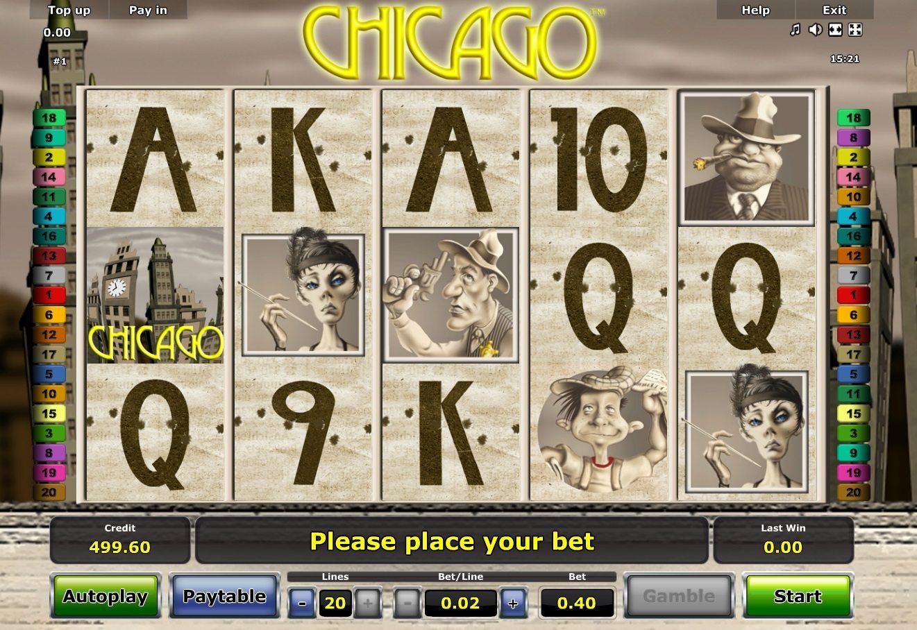 Азартная онлайн игра бесплатно Чикаго