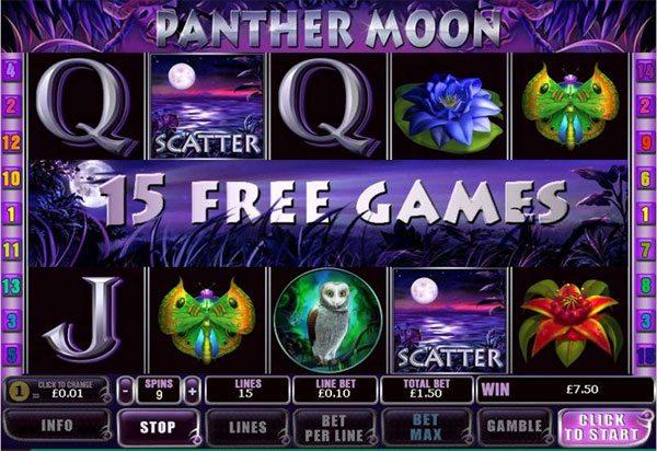 Panther Moon free games