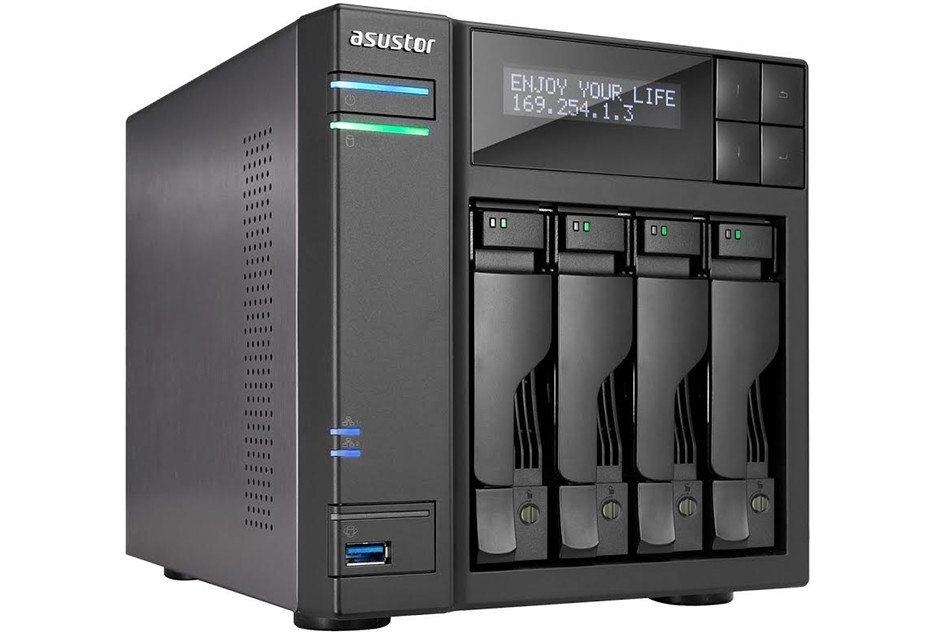 Сервер для офиса - Asustor AS6204T