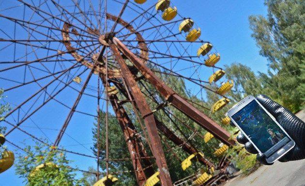 Покемоны в Чернобыле?