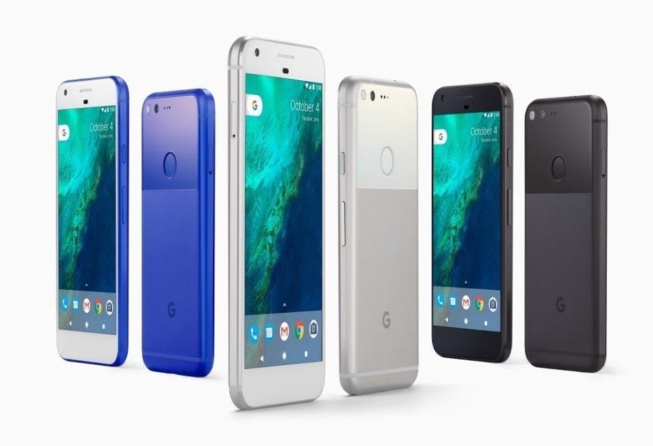 Google представила новые смартфоны Pixel и Pixel XL