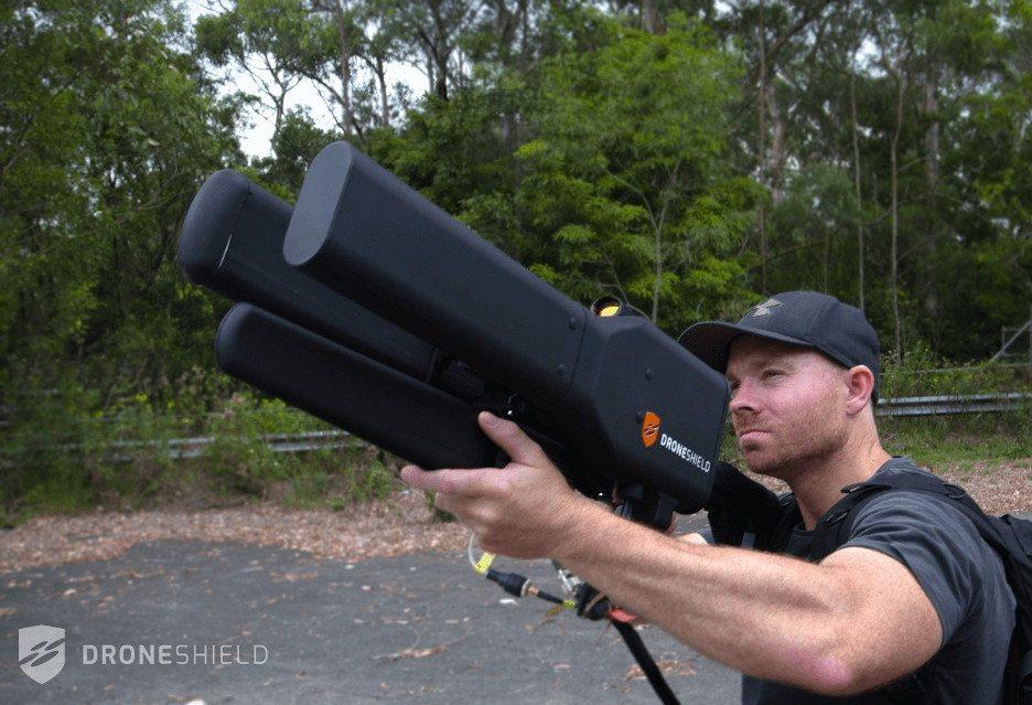 Ружье способное обезвредить квадрокоптер на расстоянии до 2-х км
