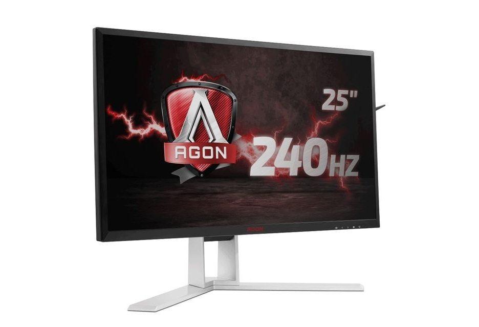 Монитор AOC AG251FG - матрица 25 дюймов с240 Гц и G-Sync